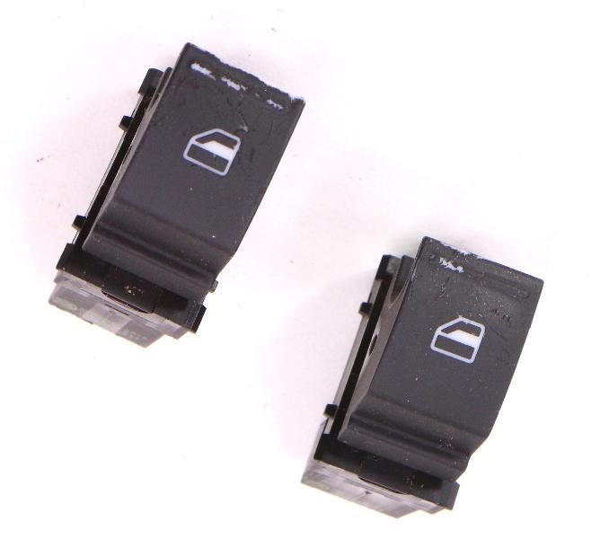 2x Window Switch Button 05-10 VW Jetta Rabbit GTI MK5 - Genuine - 1F0 959 855