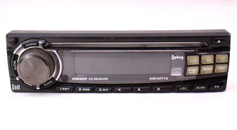Dual CD Player Head Unit Radio Face Plate XD6320