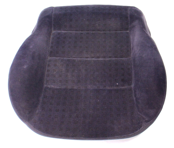 Front Seat Cushion & Cover 99-05 VW Jetta Golf MK4 Dark Grey Cloth - Genuine