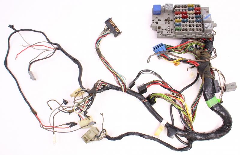 dash interior wiring harness fuse box 81 84 vw rabbit mk1 diesel rh ebay com Jetta Fuse Box 2000 VW Jetta Fuse Box Diagram