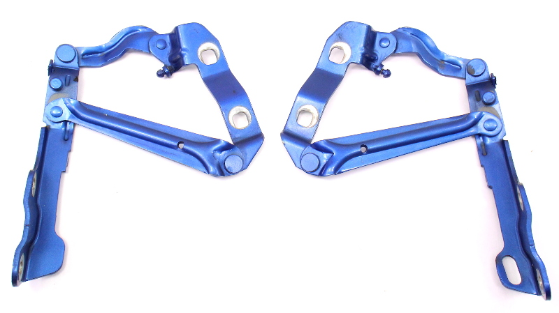 Hood Hinges 98-05 VW New Beetle LW5Y Techno Blue - Genuine - 1C0 823 301 & 302