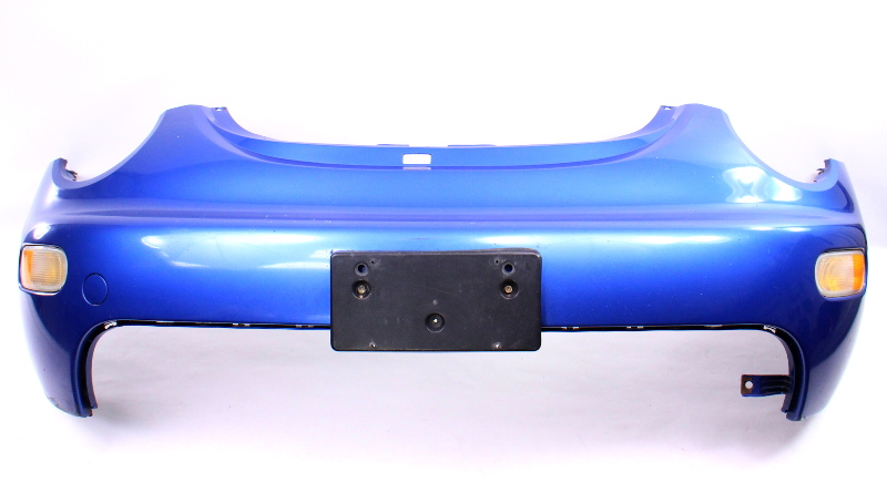 Front Bumper Cover 01-05 VW Beetle - LW5Y Techno Blue - Genuine - 1C0 807 221 D