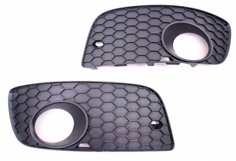 Lower Bumper Grill Grille Set 05-10 VW Jetta GLI GTI MK5 Genuine - 1K0 853 666 P