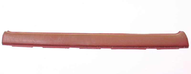 LH Front Red Upper Door Card Trim Panel 81-84 VW Rabbit 4 Door Or Pickup MK1