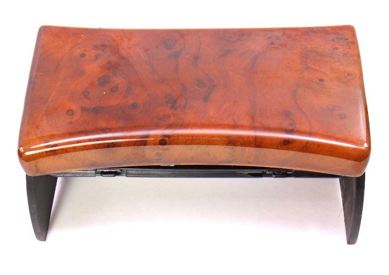 Front Wood Ash Tray 98-05 VW Passat B5 - Walnut - Genuine - 3B0 857 961 K 2WE