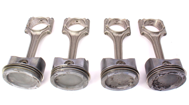 Piston & Connecting Rod Set VW Jetta Golf MK4 Beetle 2.0 - AVH AZG - Genuine