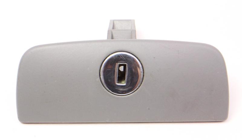 Grey Glovebox Latch 98-05 VW Passat B5 Glove Box Compartment - Genuine