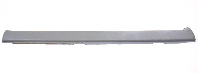 LH Front Grey Upper Door Card Trim Panel 81-84 VW Rabbit 4 Door Or Pickup MK1