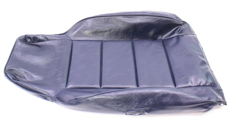 RH Front Blue Vinyl Back Rest Seat Cover 81-84 VW Rabbit Pickup Caddy MK1