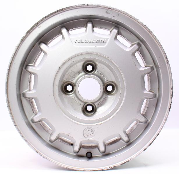 "14"" Montreal Alloy Wheel Rim 85-92 VW Jetta GLI Golf GTI MK2 - 191 601 025 B"