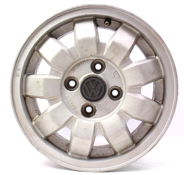 "13"" x 5"" Alloy Wheel Rim 4x100 75-84 VW Rabbit Jetta Scirocco MK1 171 601 025 J"