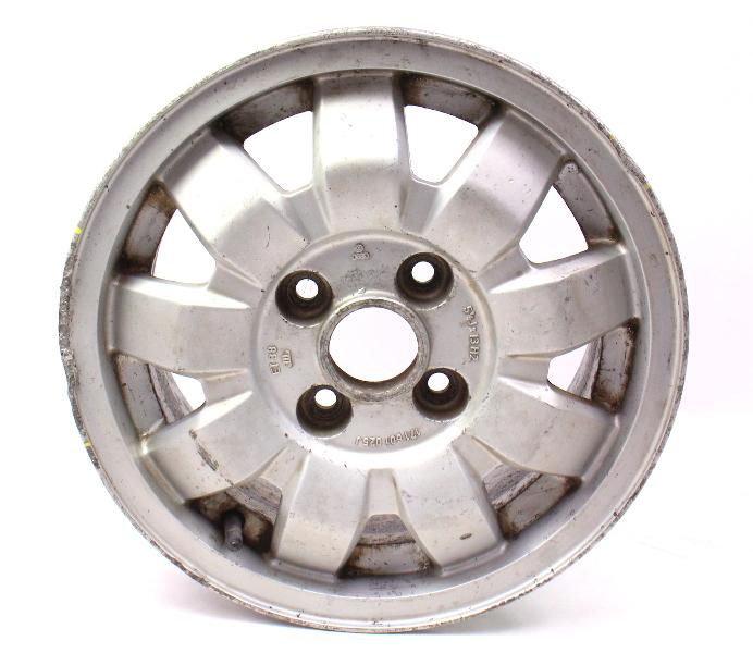 "13"" Alloy Wheel Rim 4x100 75-84 VW Rabbit Jetta Scirocco MK1 - 171 601 025 J"
