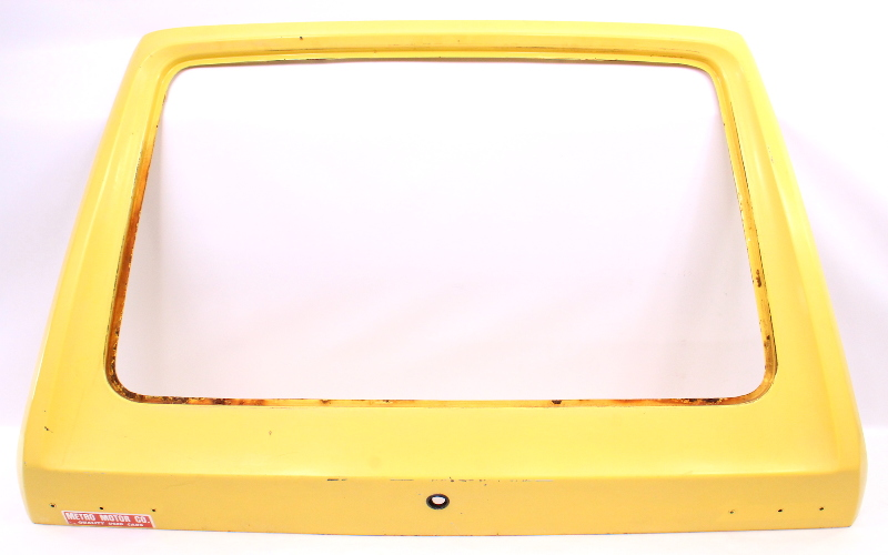 Hatch Door Assembly - 75-84 VW Rabbit GTI MK1 - Yellow -  Genuine Original