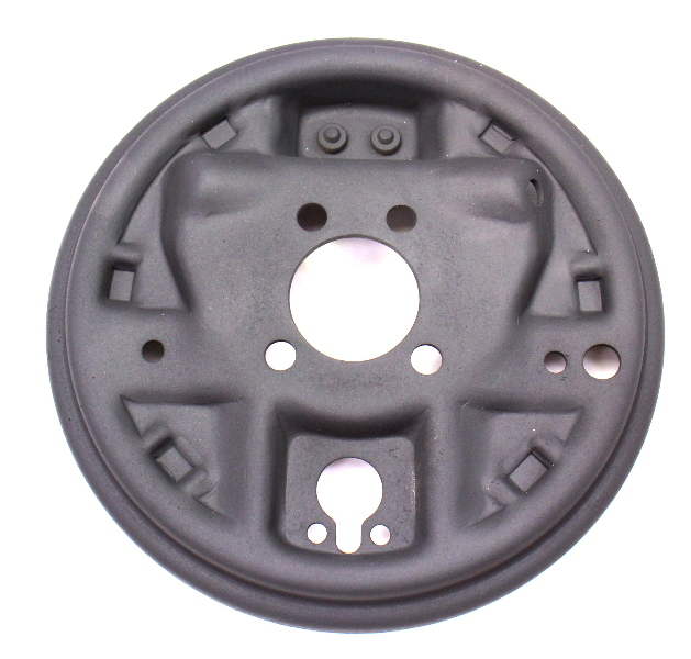NOS RH Drum Brake Backing Plate VW Jetta Golf Rabbit Pickup Mk1 MK2 MK3 - 200mm