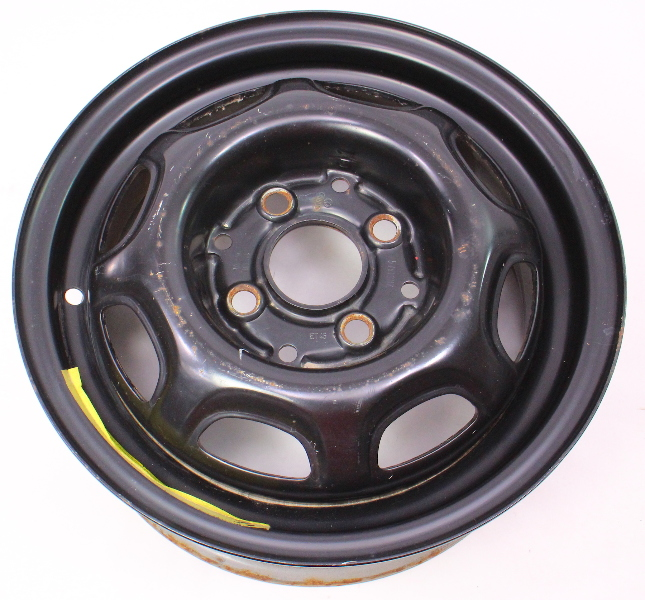 "13"" x 5"" Steel Wheel Rim 4x100 VW Jetta Golf Rabbit MK1 MK2 ~ 321 601 025 K/L"