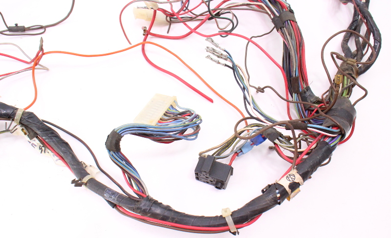 Details about Dash Interior Wiring Harness 81-84 VW Rabbit MK1 sel on