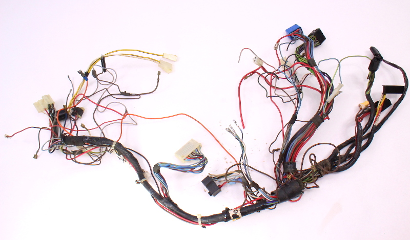 Dash Interior Wiring Harness 81-84 VW Rabbit MK1 Diesel - Genuine - 175 971 051