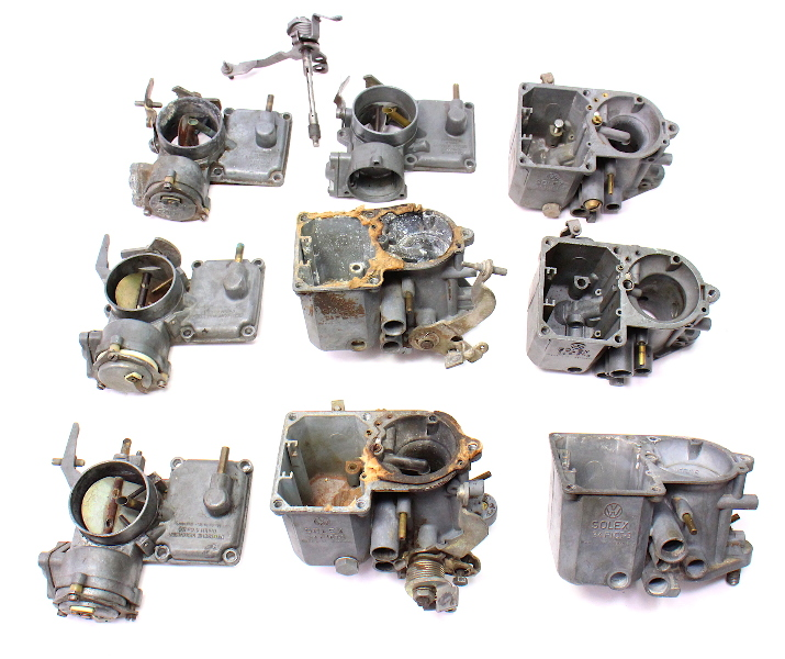 Solex Carburetor Parts Lot 34 PICT-3 71-79 VW Beetle Bug Dual Port 1600