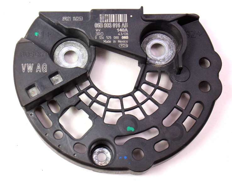 Alternator Back Cover 08-14 VW Jetta Golf MK6 Eos Passat CCTA  - 06B 903 016 AB