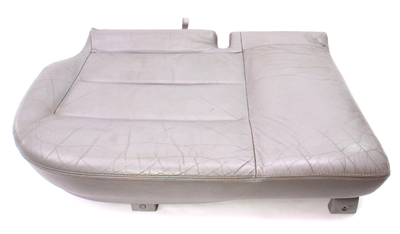 RH Rear Lower Seat Cushion & Cover 01-05 VW Passat Wagon B5.5 Grey Leather