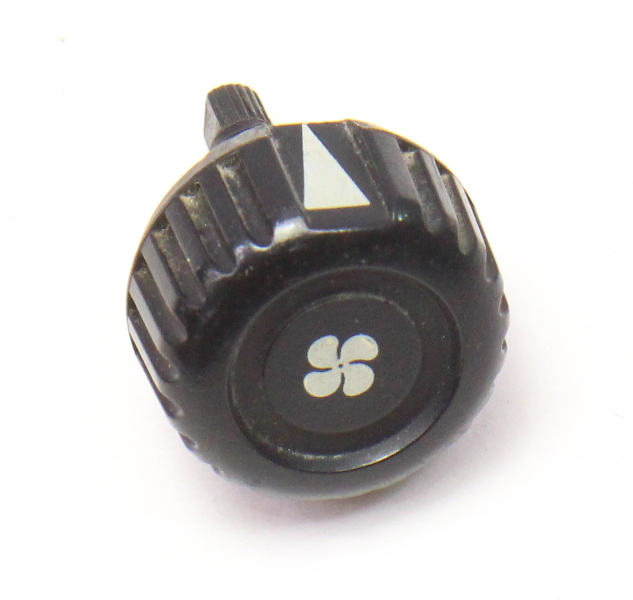 Fan Speed Switch Climate Controls Knob 75-80 VW Rabbit MK1 - 171 959 513