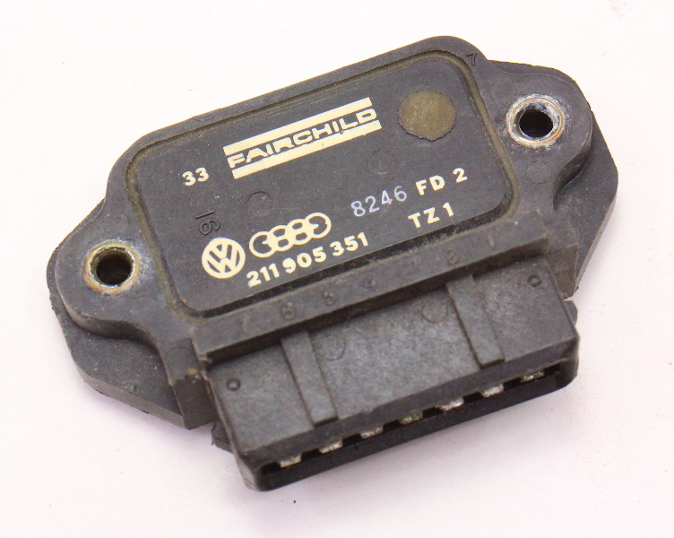 Ignition Control Module VW Rabbit Golf Jetta MK1 MK2 Vanagon T3 - 211 905 351 A