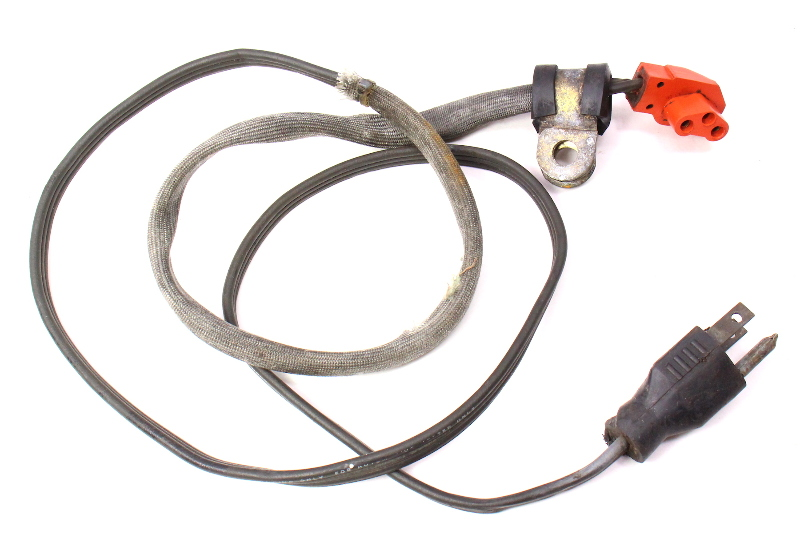 Factory Diesel Block Heater Cord Plug Power Adaptor 75-84 VW Rabbit Jetta MK1 -