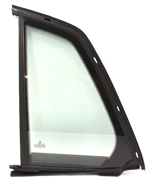 LH Rear Small Quarter Door Side Window Exterior Glass 04-06 VW Phaeton - Genuine