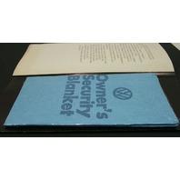 "1974 VW Dealer Advertisement Brochure Aircooled Beetle ""Wash Me"" - ""Thanks."""