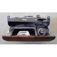 Front Center Console Ash Tray Wood Trim Lighter Audi 90 CS Quattro - Genuine
