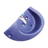 LH Rear Seat Backrest Latch Trim 00-06 Audi TT MK1 - Denim Blue - 8N8 885 219