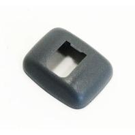 Black Sun Visor Clip Latch Trim Cover 00-06 Audi TT - Genuine - 4B0 857 563