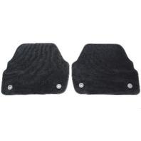 Rear Floor Mat Set Audi A6 C5 Allroad - Black - Carpet Mats - Genuine