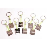 New Keychains VW Rabbit - Lot of 8 Key Chains - Genuine OE Volkswagen Keychain
