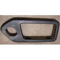 LH Rear Interior Door Handle Trim 90-97 VW Passat B3 - Genuine - 357 837 247