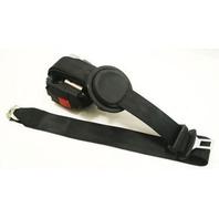 LH Rear Seat Belt 2000 Audi A8 S8 D2 - Black - Genuine - 4D0 857 805 B