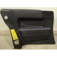 LH Rear Interior Back Seat Side Door Panel 82-88 VW Scirocco Mk2 - Genuine