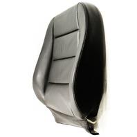 RH Front Seat Backrest 02-05 Audi A4 B6 - Black Leather - Genuine