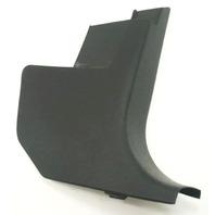 RH Kick Panel Interior Trim 98-10 VW Beetle - Black - Genuine - 1C1 863 484 B