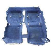 Stock Interior Floor Carpet 00-06 Audi TT MK1 Coupe - Denim Blue - Genuine