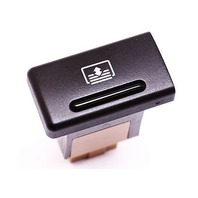 Power Rear Sunshade Switch Button Audi A8 S8 D2 - Sun Shade - Genuine OE