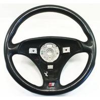Steering Wheel 00-06 Audi TT MK1 3 Spoke Black Leather - Genuine