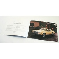 Original Dealer Showroom Brochure - 1980 Cadillac - Fleetwood Eldorado Se Ville