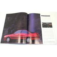 1989 Audi Original Dealer Showroom Brochure
