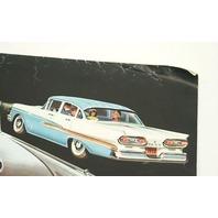 Original Dealer Showroom Brochure Poster - 1958 '58 Ford