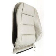 RH Front Seat Back Rest Backrest Cover 02-05 Audi A4 Gray Leather - Genuine