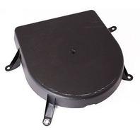 LH Rear Shelf Speaker Cover 97-03 Audi A8 S8 D2 - Genuine - 4D0 035 449