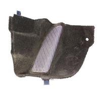 LH Kick Panel Dead Pedal Audi A8 S8 D2 - Jazz Brown - Genuine - 4D1 867 265 B