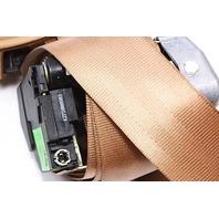 RH Rear Seatbelt 00-03 Audi A8 S8 D2 - Coconut Brown - Genuine - 4D0 857 806 C