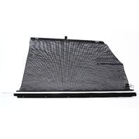 LH Rear Window Sun Shade Blind 00-03 Audi A8 S8 D2 - Jazz Brown - Genuine